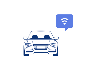 Carforce - Website Illustrations web website alert connected auto cars motion ui design illustration icon icons