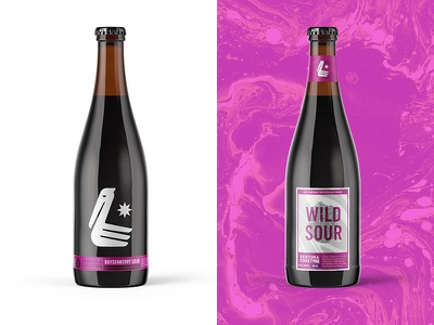 Ventura Coast Brewing Sours ca boysenberry berry packaging beer packaging beer sours