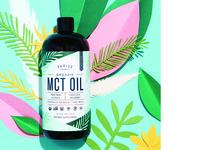 Thrive Market Mct Oil Packaging Design