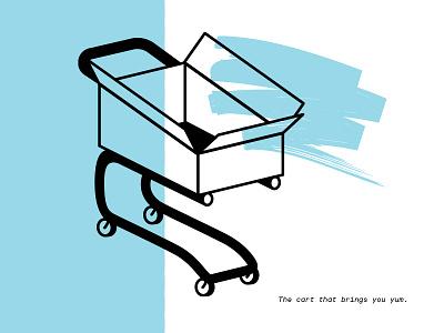 Thrive Spot Illustration ui deisgn web ux logo line art black blue brush spot color spot illustration illustration cart