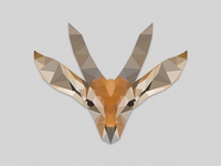 Low poly Antelope exercise