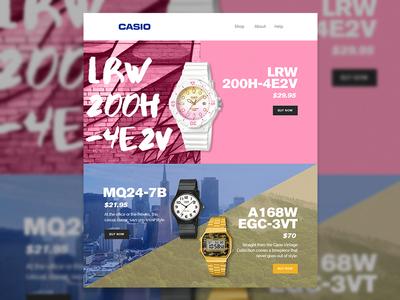 Casio Email Concept #1