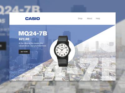 Casio Email Concept #3
