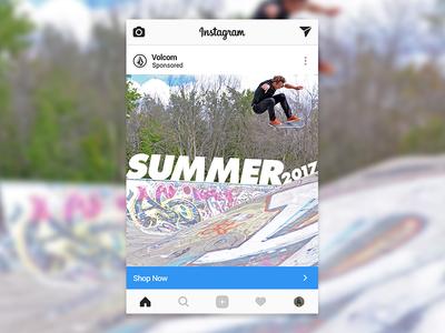 Volcom Instagram Concept