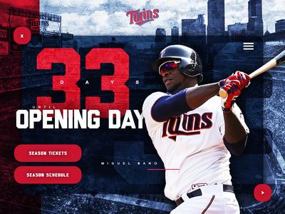 MLB Minnesota Twins Opening Day