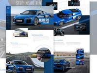 Audi R8 Web Concept