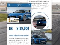 Audi R8 Mobile Concept