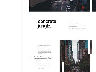 Article Layout 1 minimalistic web layouts magazine newsletter newsfeed blog design blog post ui  ux whitespace typography grid layout layout exploration