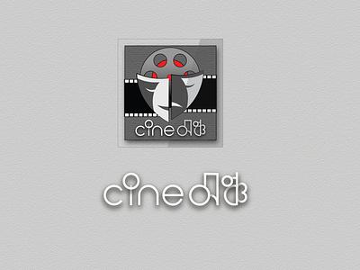 Logo: Cine-Mancha theatre film cinema unique logo custom logo branding vector logo design