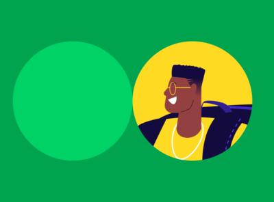 Organizze Branding project illustration illustrator green organizze design app ui branding