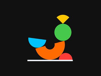 Natureza-morta - Visual & Composition experiments icon logo typography branding vectorial modern study illustration design minimal