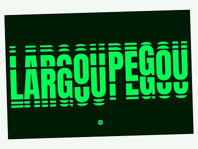 Type study vectorial modern vector design illustration typography branding