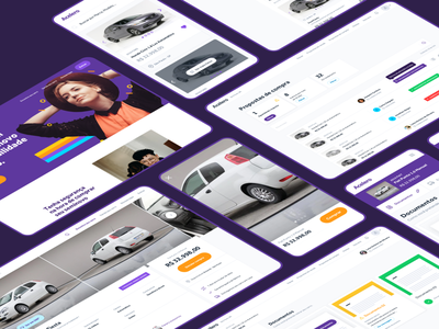 Buying a car online styleguide corp premium used cars ecommerce marketplace car modern app product design ui