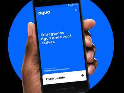 agua - water delivery app