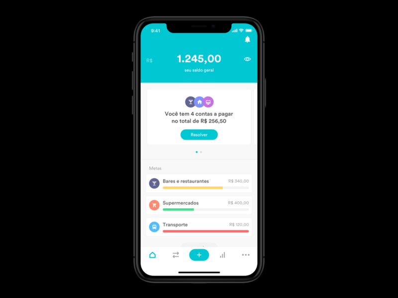New Organizze Dashboard merry christmas be a nice guy download the app planner budget financial fintech organizze dashboard modern design product app minimal ux ui