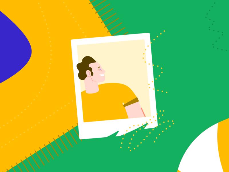 Picnic memories branding vector vectorial modern app study product minimal identity illustration ui