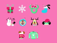 Disney Lol: Holiday Theme Icons