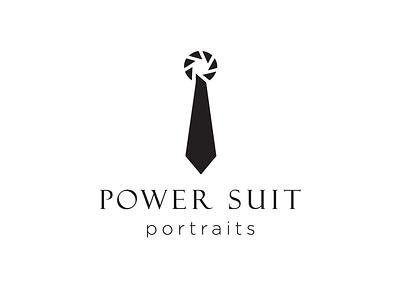 Power Suit Portraits Logo Option