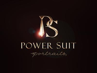 Power Suit Portraits Logo