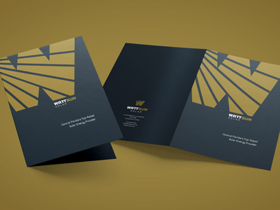 WattSun corporate folder