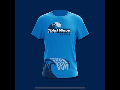 Tidal Wave t-shirt design