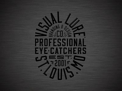 Visual Lure badge logo