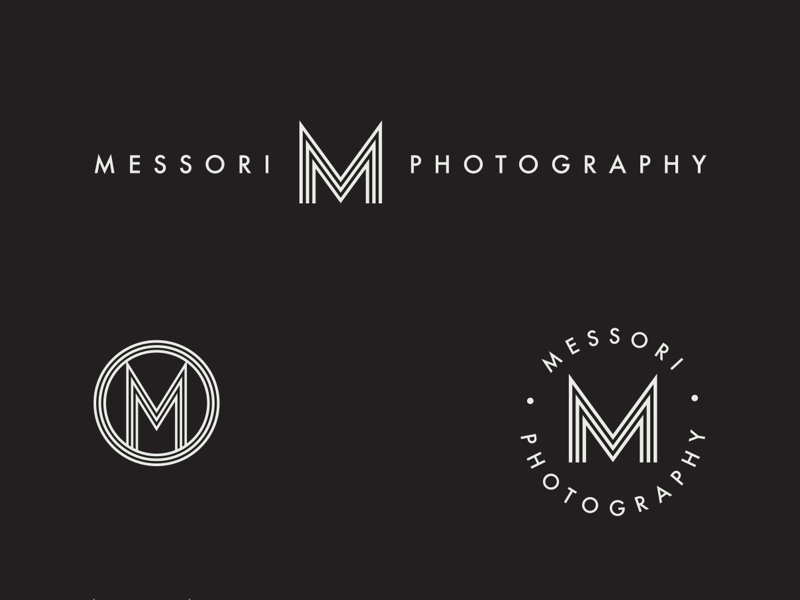 Another Messori Photography logo option photography logo design photography branding photography logo