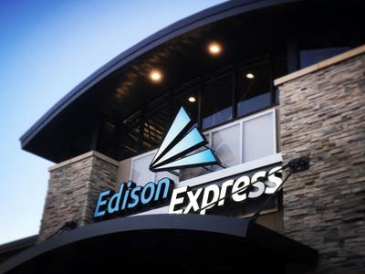 Edison Express Logo/Sign