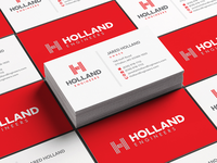 Holland Engineers Logo & Business Card Desig