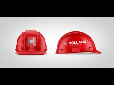 Holland Engineers Logo and Hard Hat