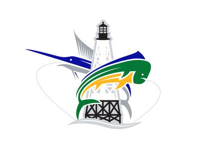 No Slack Fishing Team Logo