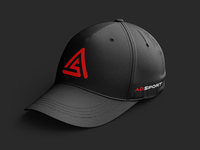 A.S. Baseball hat design