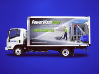 Power Wash Pros Vehicle Wrap