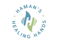 Haman's Healing Hands Logo