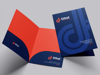Ditat corporate folder design