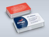 Ditat Business Card Design