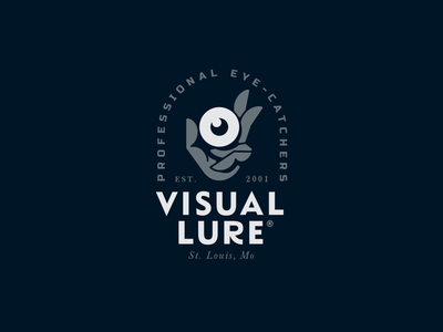Visual Lure Logo Badge