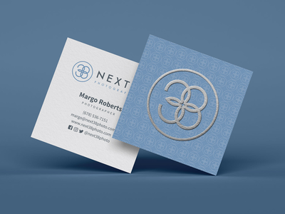 Next 38 photography Business cards