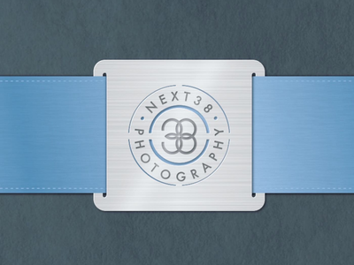 Next 38 Photography Metal packaging card