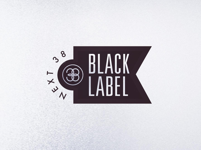 Next 38 Black Label Logo