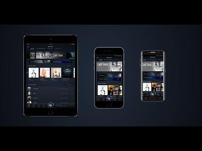 Amazon Music Redesign interactiondesign navigationdesign multimodal crossplatform ui