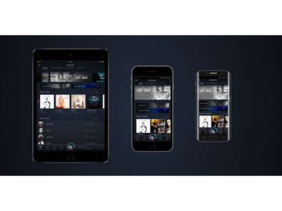 Amazon Music Redesign interactiondesign navigationdesign multimodal crossplatform ui