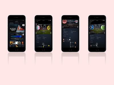 Amazon Sports Mobile soccer interactiondesign sports multimodal crossplatform ui