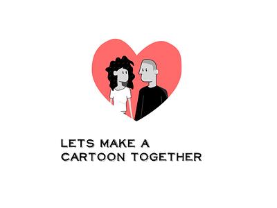 Cartoon invitation illustration illustrator heart icon cartoon explorations design illustrations
