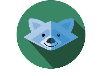 Raccoon raccoon illustration adobe illustrator