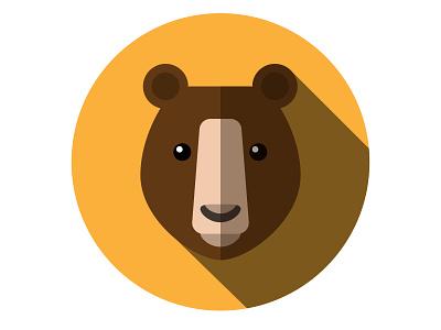 Bear illustration adobe illustrator