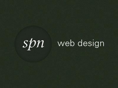 SPN web design logo idea logo design branding