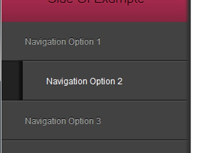 Nav hover state css3 design in the browser