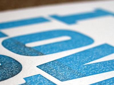 I love you letterpress print letterpress poster handmade
