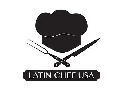 Latin Chef USA latin chef usa food logo comida latina